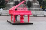 Różowy fortepian promuje rok Chopinowski