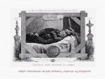 Adam Mickiewicz na łożu śmierci