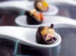 Fine Dining Prune canapes