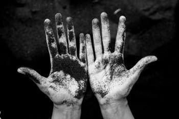 brudne ręce