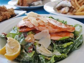 ryba z parmeaznem